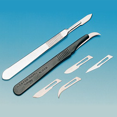 Skalpel chirurgiczny brzuszasty