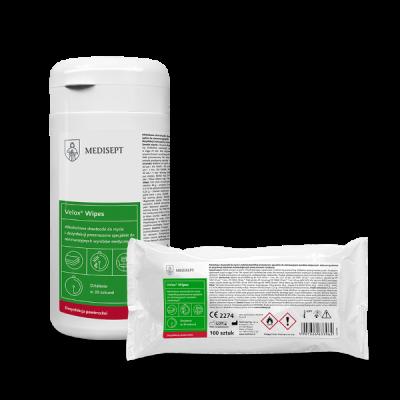 Chusteczki do dezynfekcji powierzchni alkoholowe Velox® Wipes