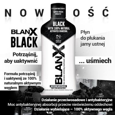 BLANX BLACK PŁYN Z AKTYWNYM WĘGLEM 500ML